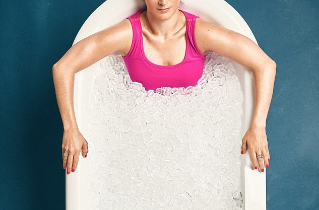 Ice bathing for runners