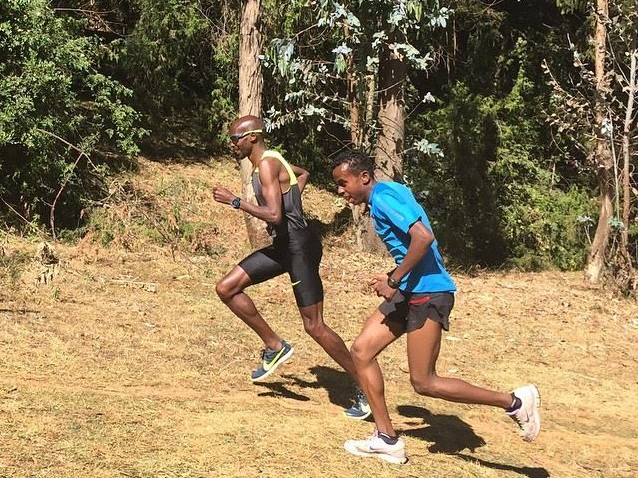 Sprint training for long distance runners