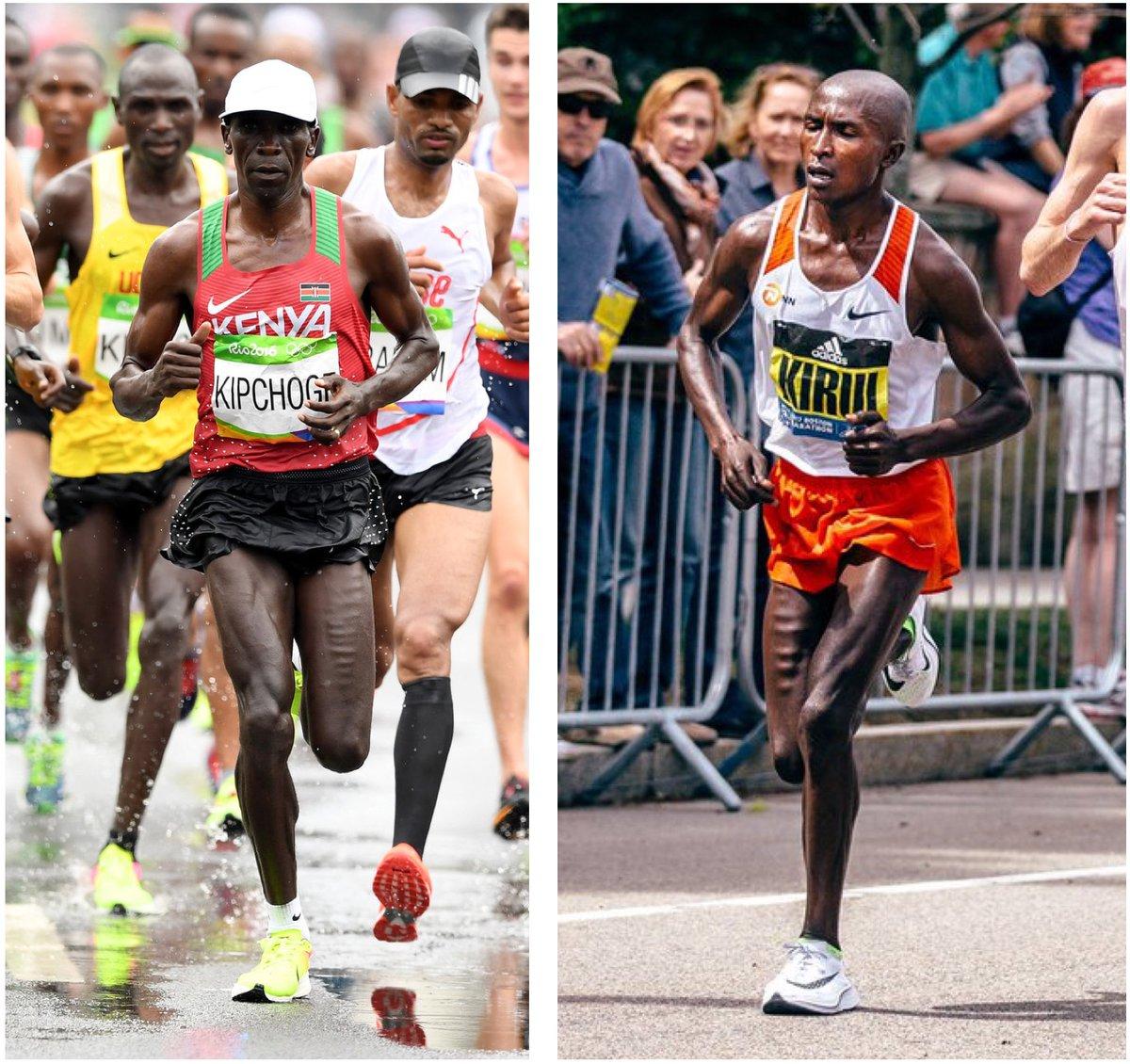 marathoner runners