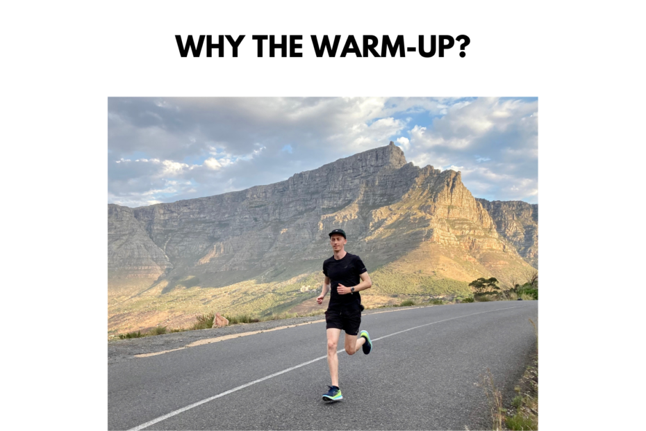 warming up running